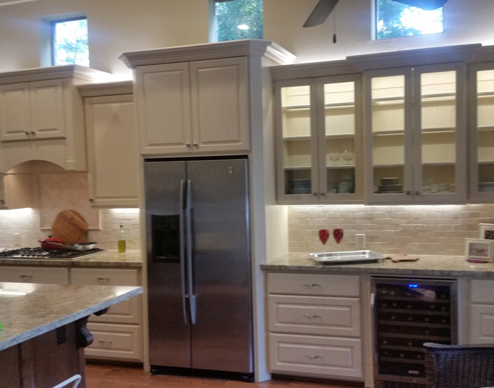 Custom Made Cabinets The Woodlands Tx Custom Cabinets Bader Co Construction